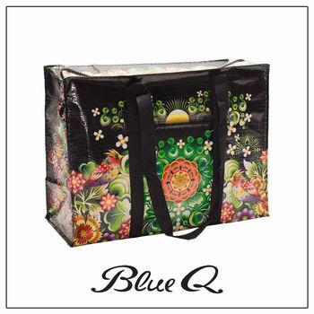 Blue Q 肩背托特包 - Moon Garden 月光花園