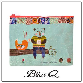 Blue Q 拉鍊袋 - Nice Day 美好的一天