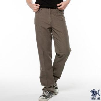 【NST Jeans】390(5327) 龍躍圖騰軍褐綠休閒長褲(中腰)