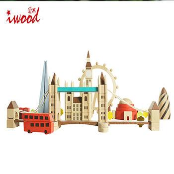 《iwood》印象倫敦積木   Impression Of London Blocks
