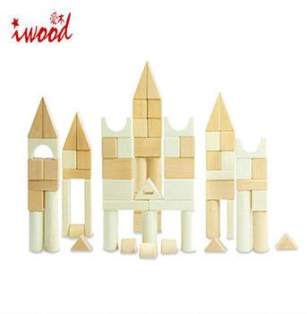 《iwood》歸真積木(72pcs) | Nature Blocks