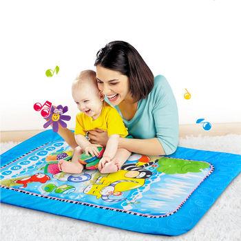 【Caring】可愛動物音樂毯-豪華加大版(通過多項安全玩具檢驗認證)