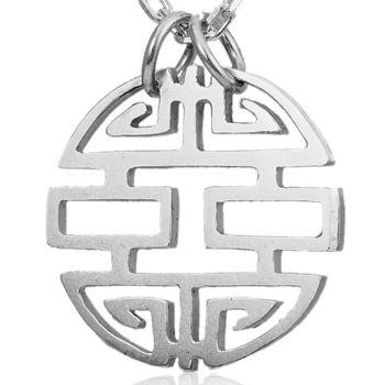 ART64 項鍊-囍飾 設計銀墬(不含鍊)