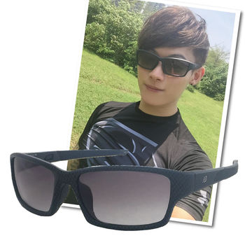 【New Balance】運動太陽眼鏡-黑框-防滑鏡腳設計(NB8040-C06)