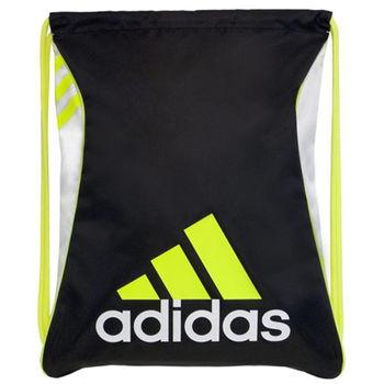 【Adidas】2016時尚Burst爆裂黑黃色抽繩後背包(預購)