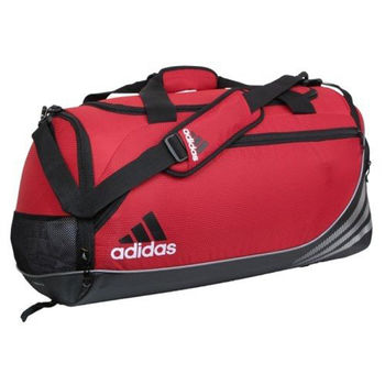 【Adidas】2016時尚Team speed紅色中型行李袋(預購)
