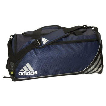 【Adidas】2016時尚Team speed深藍中型行李袋(預購)