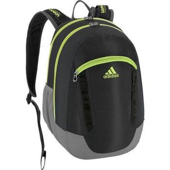 【Adidas】2016時尚Excel黑石綠色大後背包(預購)