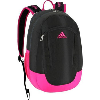 【Adidas】2016時尚Excel黑粉衝色大後背包(預購)