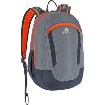 【Adidas】2016時尚Excel灰橙色大後背包(預購)