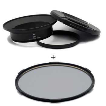 STC Screw-in Lens Adapter 超廣角鏡頭 濾鏡接環組 + CPL 105mm 偏光鏡(for OLYMPUS 7-14mm專用)