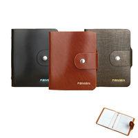 PUSH ^#33 皮件40卡位真牛皮信用卡夾信用卡包名片夾保護皮套PUSH16高貴金砂