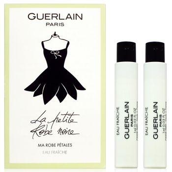 GUERLAIN 嬌蘭 小黑裙淡香露-花瓣洋裝 針管 1ml x2入組