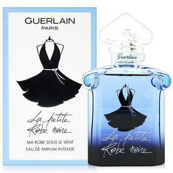 GUERLAIN 嬌蘭 小黑裙精萃香水 V領洋裝 50ml