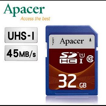 【Apacer】宇瞻 32GB SDHC UHS-I Class10 記憶卡