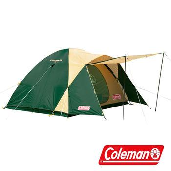 Coleman 4-5人CROSS 露營帳 CM-7132J + 豪華防水野餐墊 P15726|套裝組