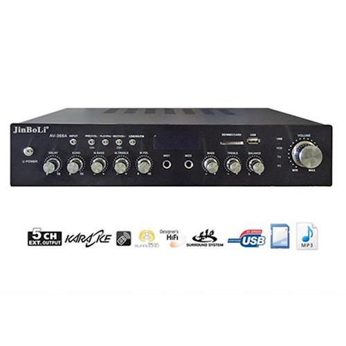 卡拉OK5.1聲道(USB/SD/)擴大機AV-368A