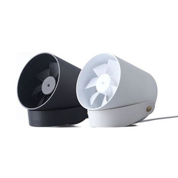 USB 羽靜音柔風觸控智能風扇