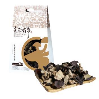 《鹿窯菇事》有機黑面白背乾木耳(45g/盒,共兩盒)