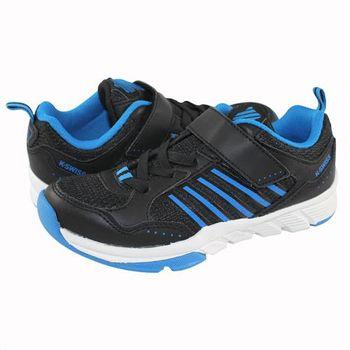 K-Swiss X Trainer VLC休閒運動鞋-童-黑/藍
