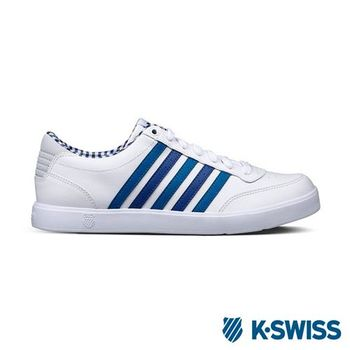 K-Swiss Court Lite輕量休閒鞋-男-白/海軍藍/綠