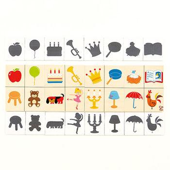 【德國Hape愛傑卡】親子教育系列形狀和影子遊戲