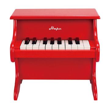 【德國Hape愛傑卡】音樂小鋼琴-紅