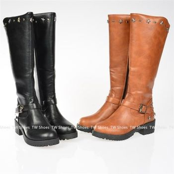 【TOMO】星星拉鍊釦環造型長靴(K139C2988)