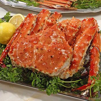 【寶島福利站】 世界第一品牌熟凍帝王蟹2隻(2.2kg/隻)