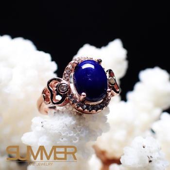 【SUMMER寶石】天然《青金石》設計款戒指 (P3-17)