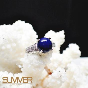 【SUMMER寶石】天然《青金石》設計款戒指 (P3-12)