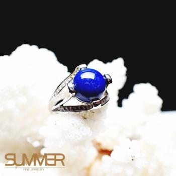 【SUMMER寶石】天然《青金石》設計款戒指 (P3-03)