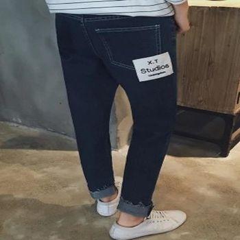 【協貿國際】男士長褲韓版牛仔褲鉛筆褲單件