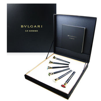 BVLGARI 寶格麗 LE GEMME 寶石香水禮盒組 10mlx6入