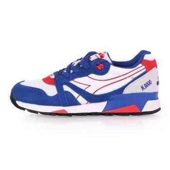 【DIADORA ORIGINAL】N9000 NYL男進口復古休閒鞋 白藍紅