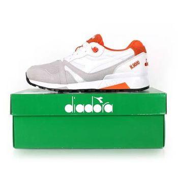 【DIADORA ORIGINAL】N9000 DOUBLE L 男進口復古休閒鞋 白紅