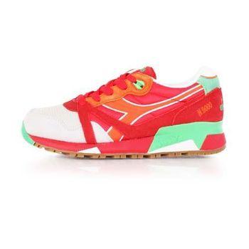 【DIADORA ORIGINAL】N9000 NYL女進口復古休閒鞋 紅