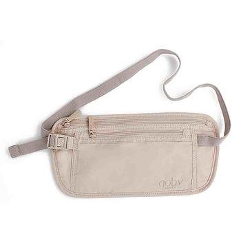 【goby果比】出國旅行護照包(旅遊收納袋貼身防盜腰包)