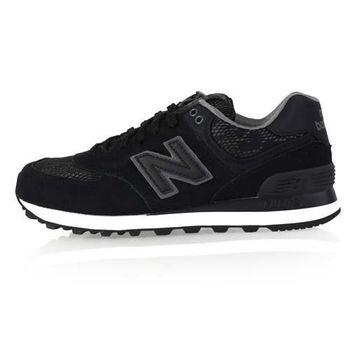 【NEWBALANCE】574系列 女復古休閒鞋 - NB N字鞋 奢華黑