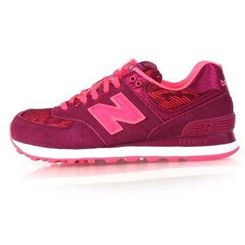 【NEWBALANCE】574系列 女復古休閒鞋 - NB N字鞋 珊瑚紅