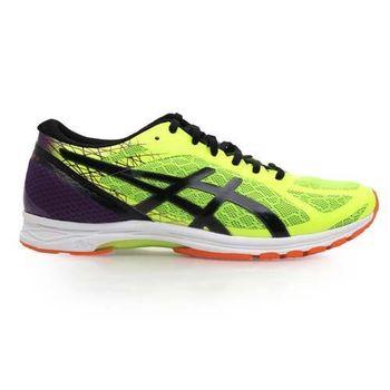 【ASICS】GEL-DS RACER 11 男路跑鞋- 慢跑 亞瑟士 螢光黃紫黑