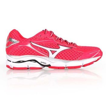 【MIZUNO】WAVE ULTMA 7 女慢跑鞋- 路跑 美津濃 粉桃紅白