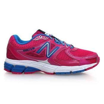 【NEWBALANCE】680系列 女慢跑鞋- NB 紐巴倫 桃紅寶藍