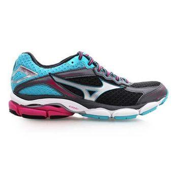 【MIZUNO】WAVE ULTMA 7 女慢跑鞋- 路跑 美津濃 黑銀藍