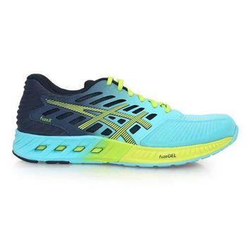 【ASICS】FUZEX 女慢跑鞋- 路跑 亞瑟士 健身 訓練 湖水藍丈青
