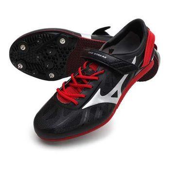 【MIZUNO】GEO STREAK 男女田徑釘鞋- 跨欄 美津濃 黑紅
