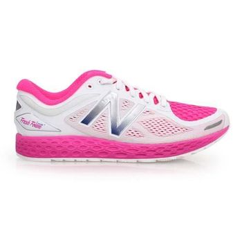 【NEWBALANCE】FRESH FOAM ZANTE V2女慢跑鞋- 寬楦 白桃紅