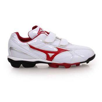 【MIZUNO】FRANCHISE F EDITION JR男女童棒壘球鞋-美津濃 白紅