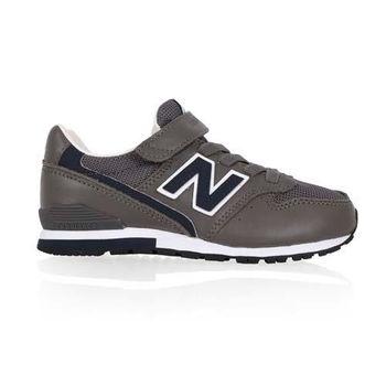 【NEWBALANCE】996系列 男女中童休閒鞋-WIDE-寬楦 NB N字鞋 鐵灰藍