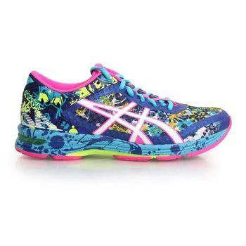 【ASICS】GEL-NOOSA TRI 11 女路跑鞋- 慢跑 亞瑟膠 亞瑟士 藍螢光粉